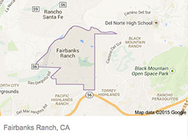 Fairbanks Ranch map