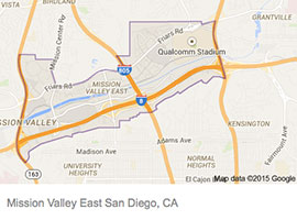 Mission Valley map