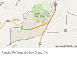 Rancho Penasquitos map