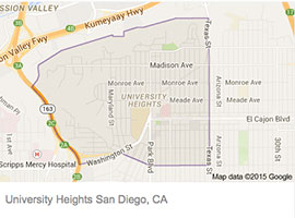 University Heights Electrician San Diego